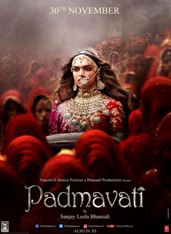 Deepika Padukone as Rani Padmini in new Padmavati poster.