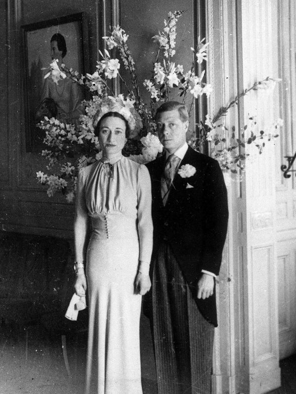 Bessie Wallis Warfield Simpson and King Edward VIII