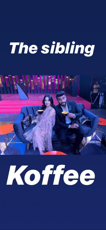 Janhvi debuts on KWK with 'Koffee legend', brother Arjun, Kjo calls them 'hysterical'