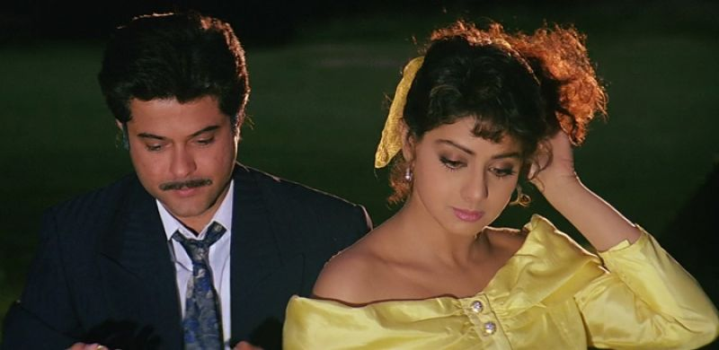 Anil Kapoor and Sridevi in the still from Lamhe