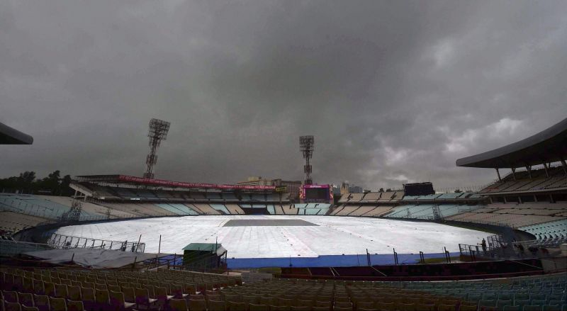 Eden Gardens is all set  to host the Eliminator tonight. (PTI)