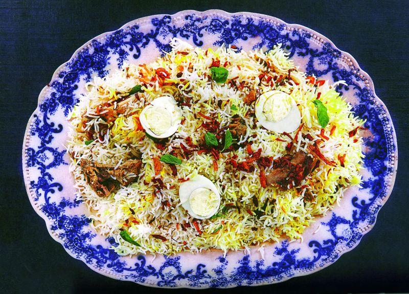 Hyderabadi  Mutton Pulao