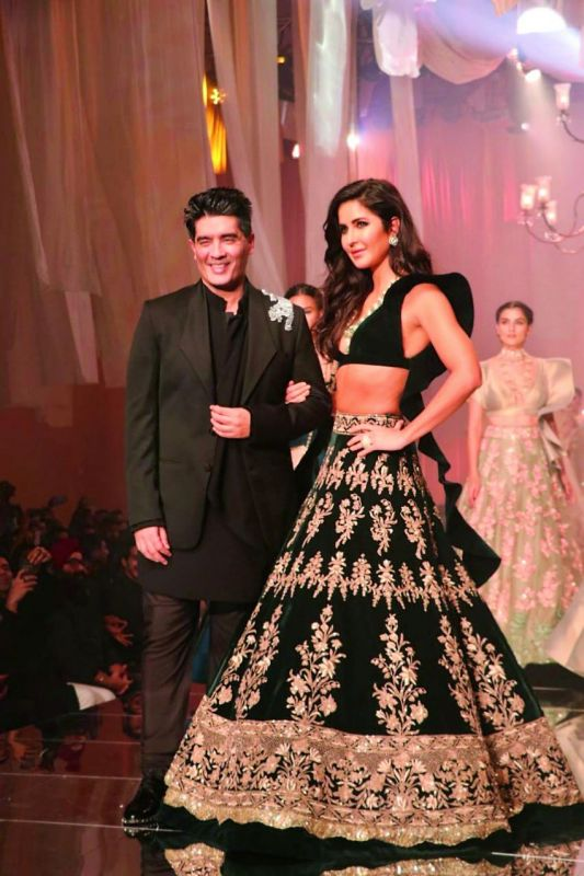 Katrina Kaif walked for Manish Malhotra