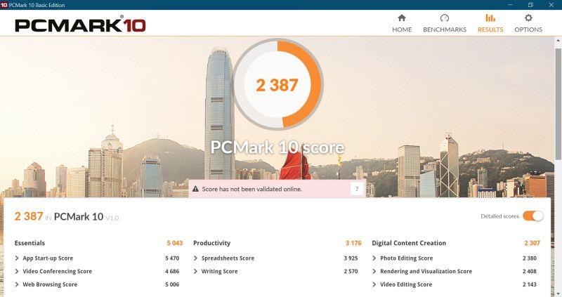 Asus Zenbook Duo benchmarks