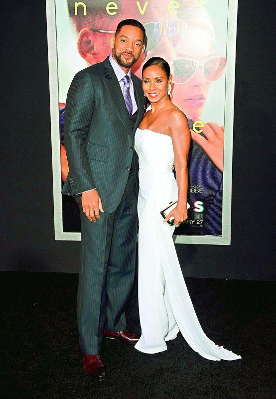 Jada Pinkett Smith with Will Smith