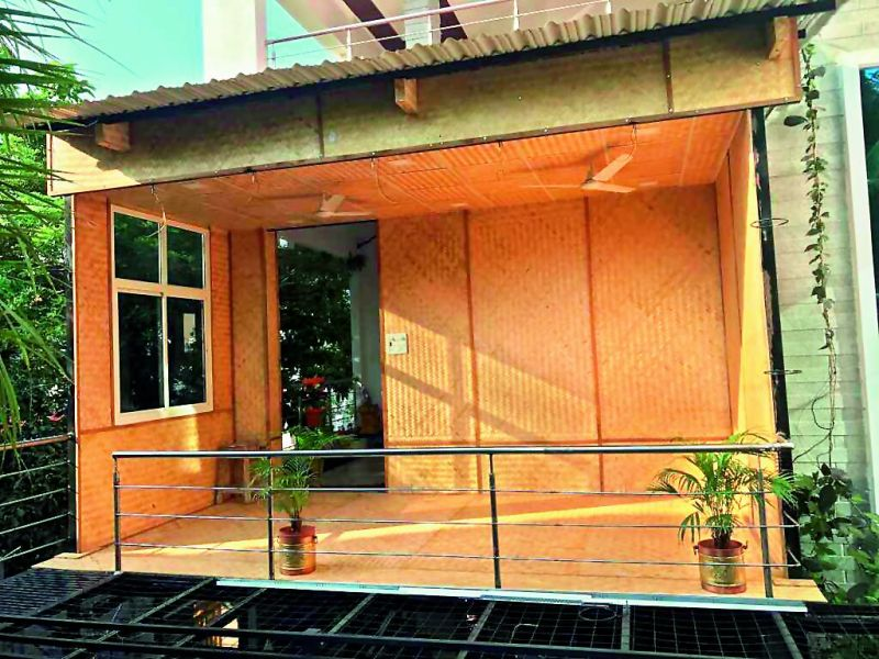 The founders of Bamboo House India — Prashant Lingam and Aruna Kappagantula — are preserving the planet, with their home boasting some of the finest eco-credentials.