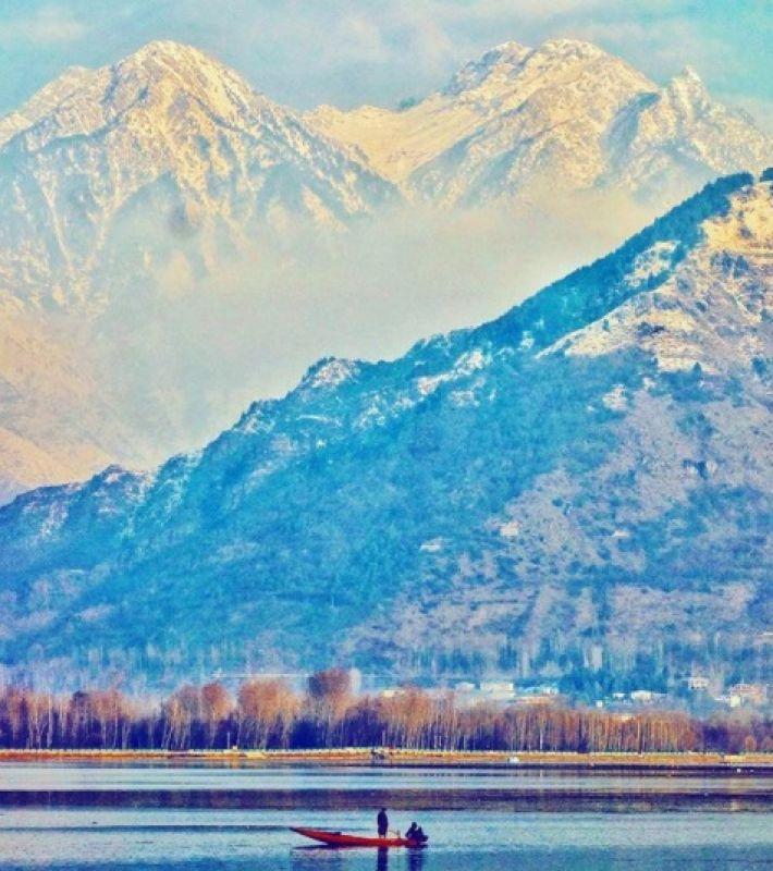 Kashmir. (Instagram Screengrab/ Amit Sengupta)
