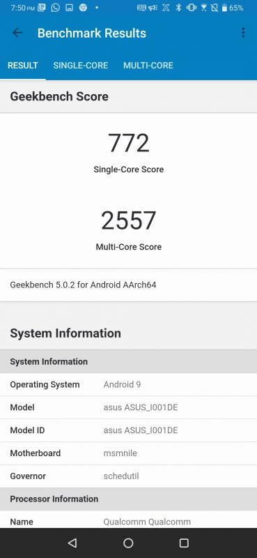 ASUS ROG Phone II review benchmarks