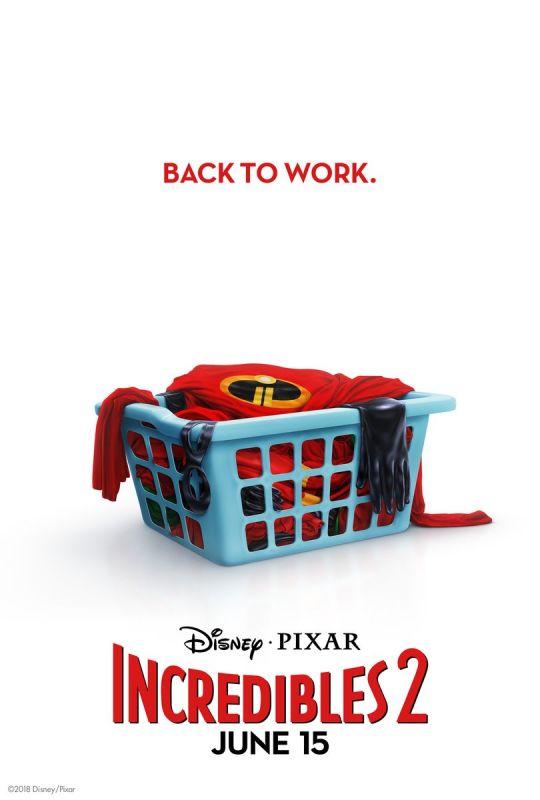 Incredibles 2 poster