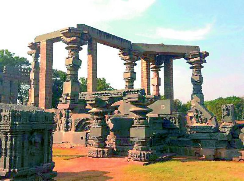 Warangal Fort, which is said to have existed since at least the 12th century.
