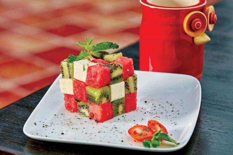 Fruit Cube Salad