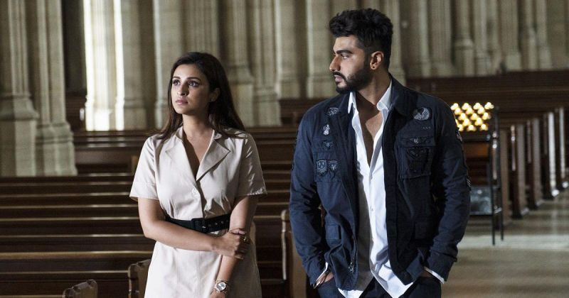 Arjun Kapoor and Parineeti Chopra in the still from Namaste England.