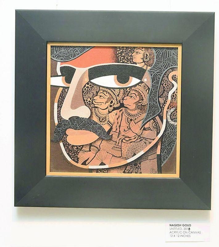 An artwork by Nagesh Goud.