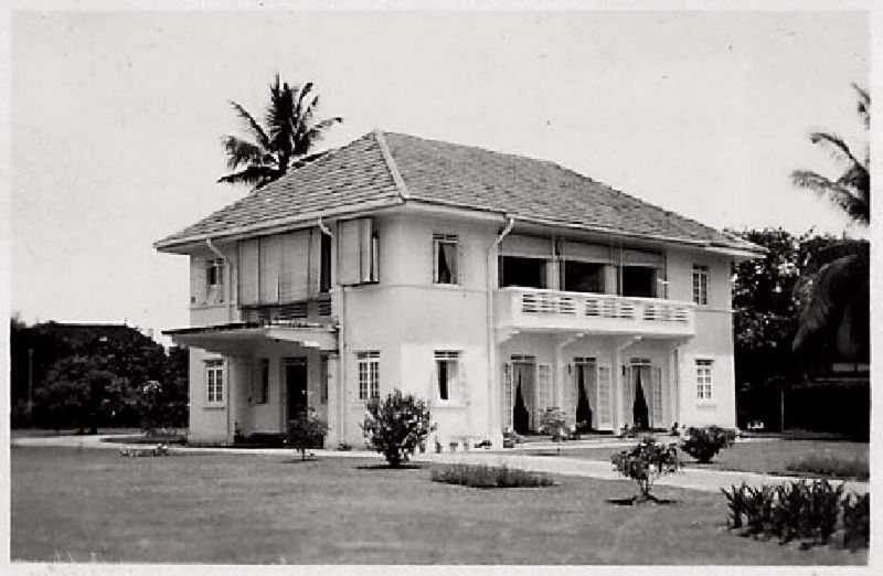Photograph of a house, pre 1946 (Richard Kutler)