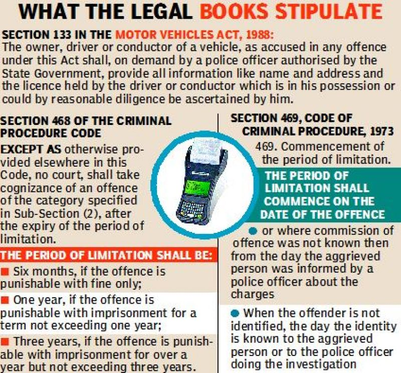 What the legal books stipulate.