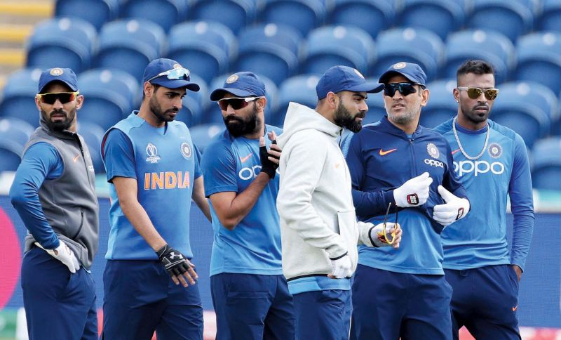 Players from the 2019 World Cup squad during a practice session(Photo: AP)