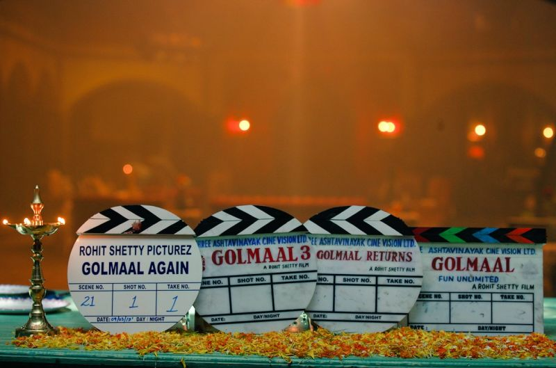 Golmaal 4 goes on floors, expect another laugh riot