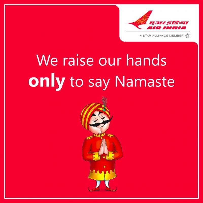 Air India troll on IndiGo.