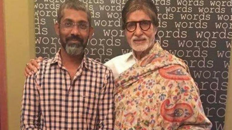 Amitabh Bachchan with Nagraj Manjule.