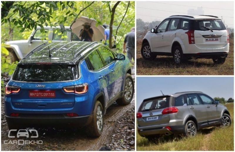Jeep Compass vs Tata Hexa vs Mahindra XUV500