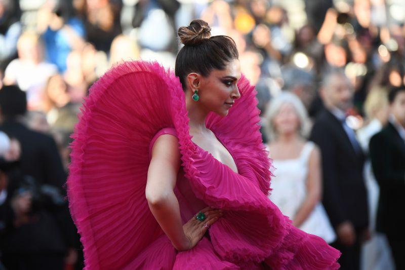Deepika Padukone at Cannes. (Photo: AFP)