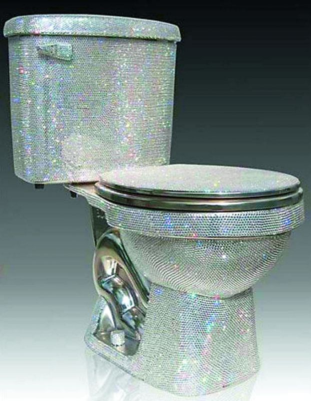 World's most expensive toilet seat
