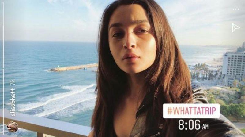 Alia Bhatt's instagram story