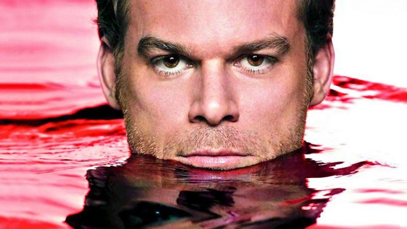 A still from the iconic dark show, Dexter.