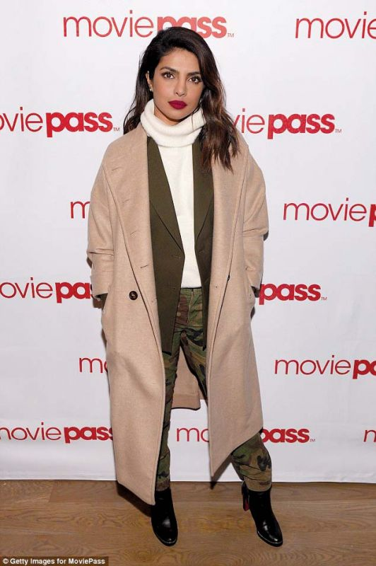 Priyanka Chopra works this trend with a pair of black boot!