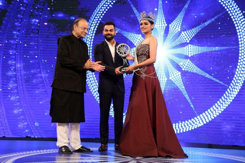 When Virat Kohli answer Miss World Manushi Chhillar