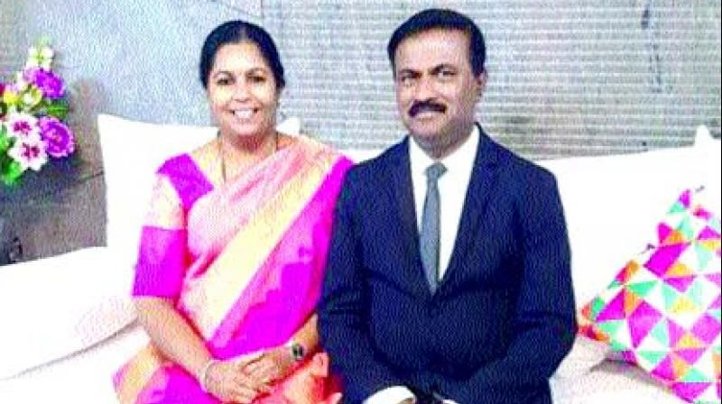 S.C. Jayachandra, one of the two officers, who was raided by the I-T department on Thursday. (Photo: DC)