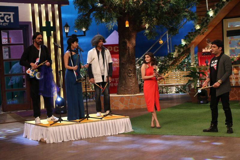 Rock On 2' stars role play at Kapil Sharma's show
