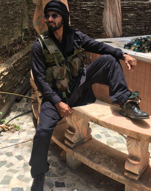 Syed Shujat on the sets of 'Tiger Zinda Hai'.