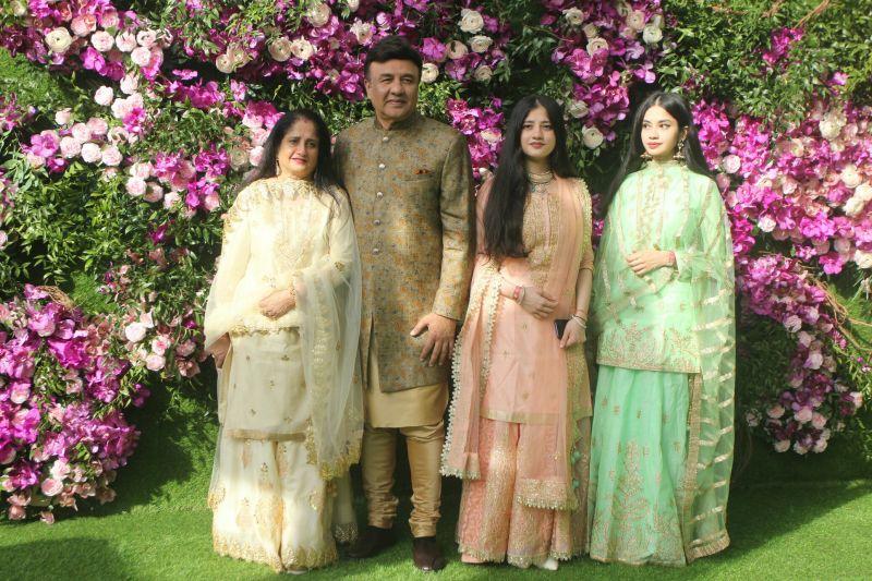 Anu Malik with his family. (Photo Courtesy: Mrugesh Bandiwadekar)