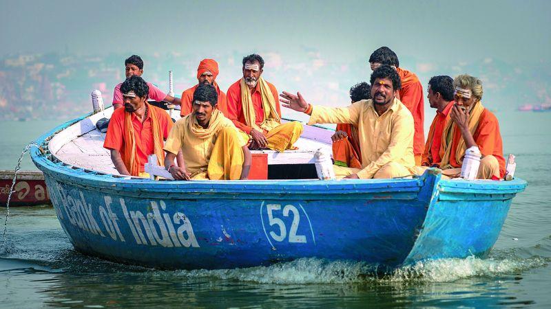 Priests in Varanasi.