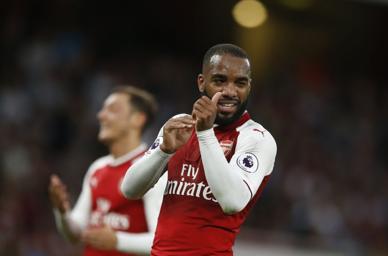Alexandre Lacazette has given a completely new dimension to the Arsenal attack. (Photo: AP)