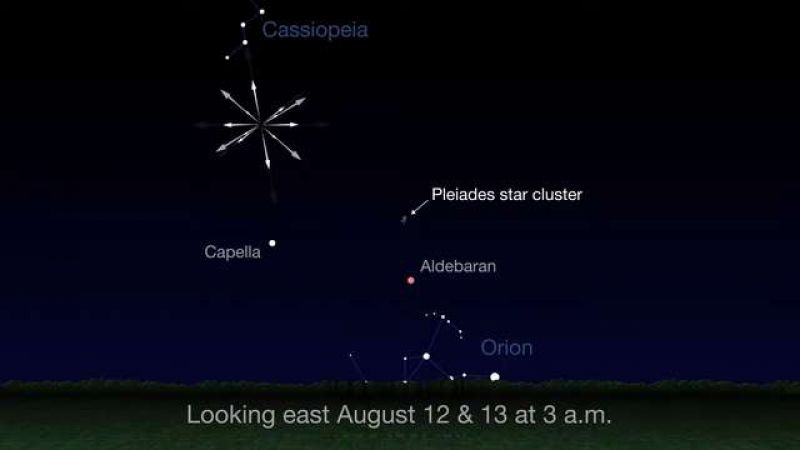 Perseid Meteor Shower Can Be Observed Tonight