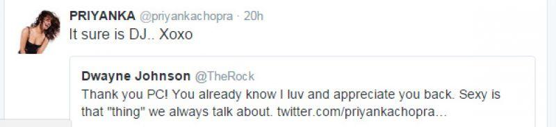 Priyanka Chopra is ecstatic about Dwayne Johnson's 'sexiest man alive' tag