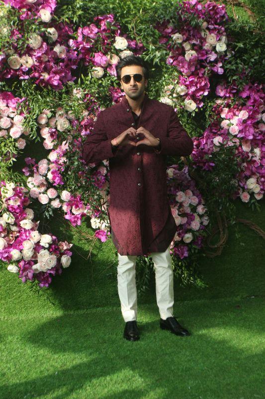 Ranbir Kapoor. (Photo Courtesy: Mrugesh Bandiwadekar)