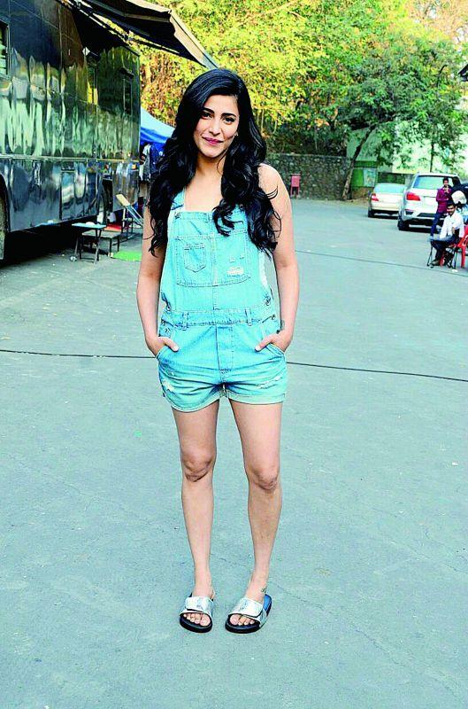 Shruti Haasan stars in Sangamithra