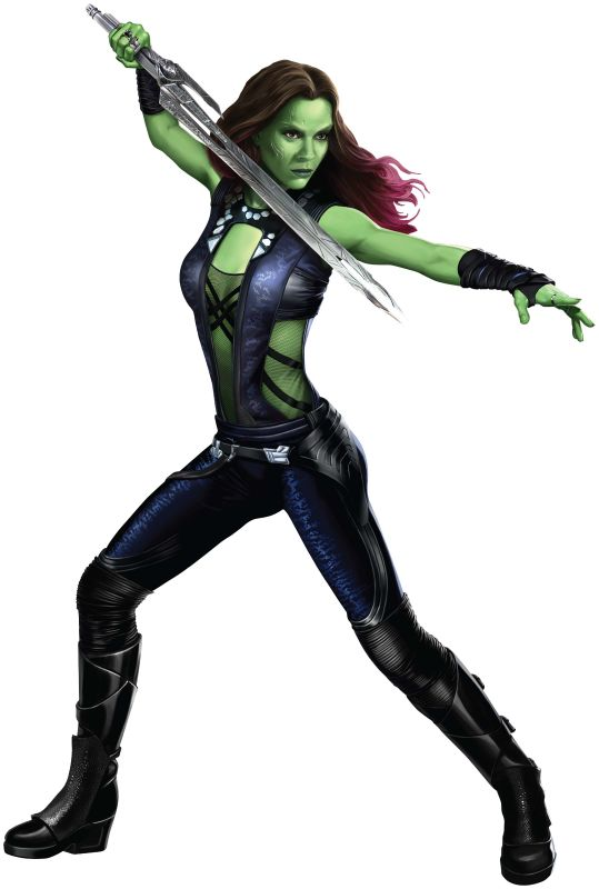 Gamora, from the film
