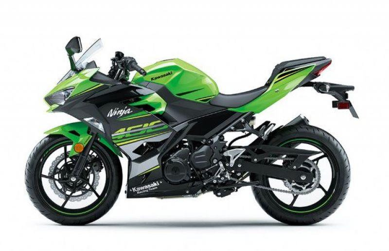 Kawasaki unveils Ninja 400 and 250 at 2017 Tokyo Motor Show
