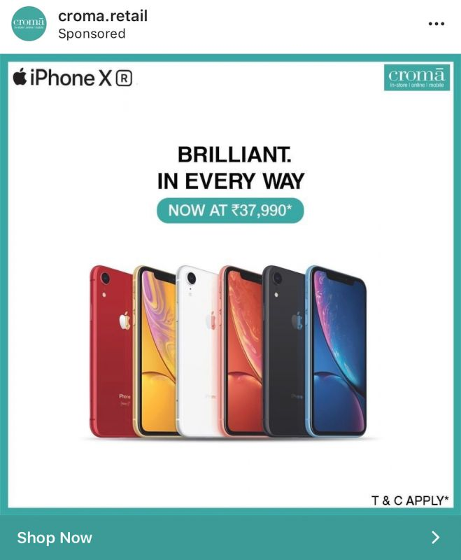 iPhone XR Croma