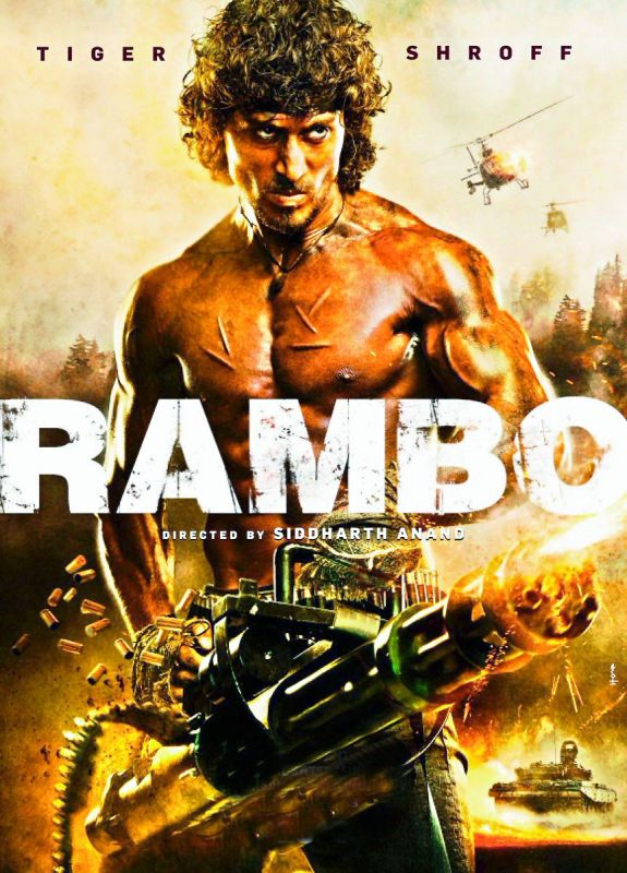 Tiger's Rambo poster