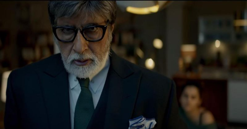 Amitabh Bachchan in the still from Badla.