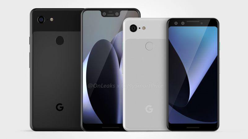 Google Pixel 3/ Pixel 3 XL leaks