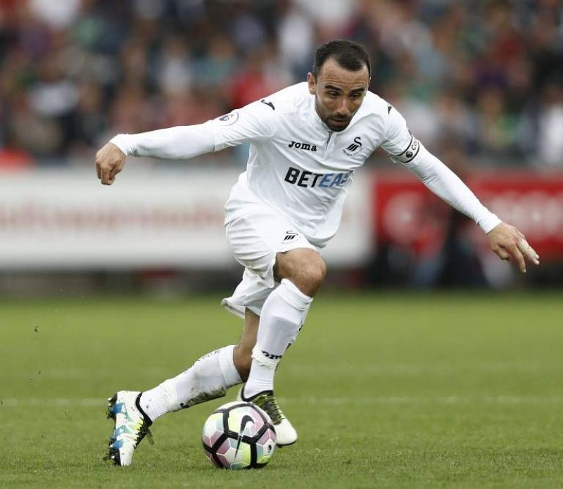 Leon Britton. (Photo: AFP)