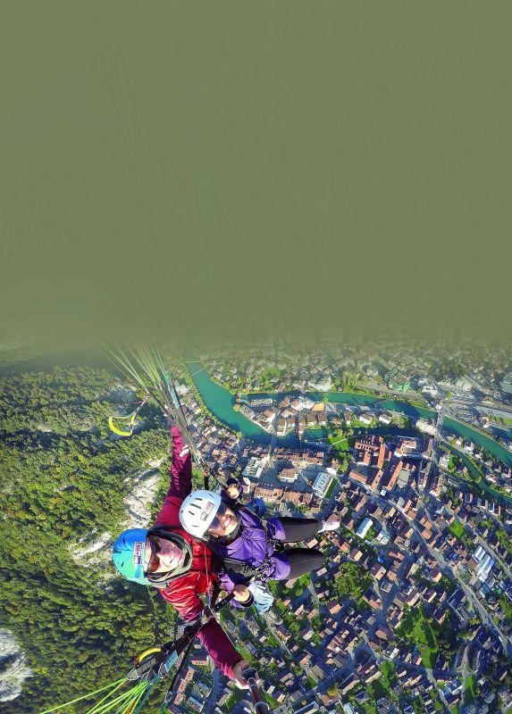 Paragliding at Interlaken
