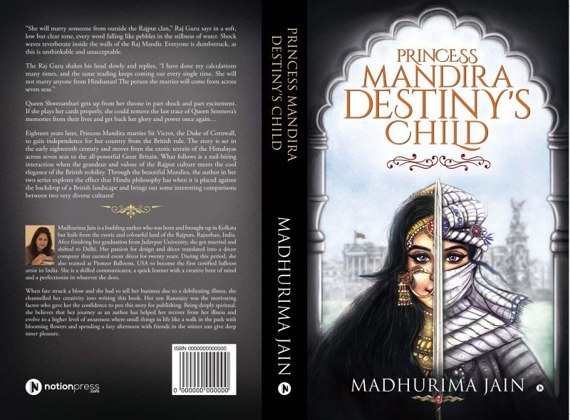 by Madhurima Jain, Published by Notion Press, Pp.242, Rs 250