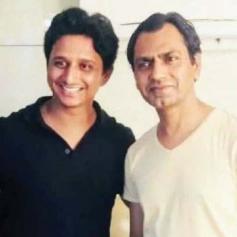 Ashish Pathode with Nawazuddin Siddiqui